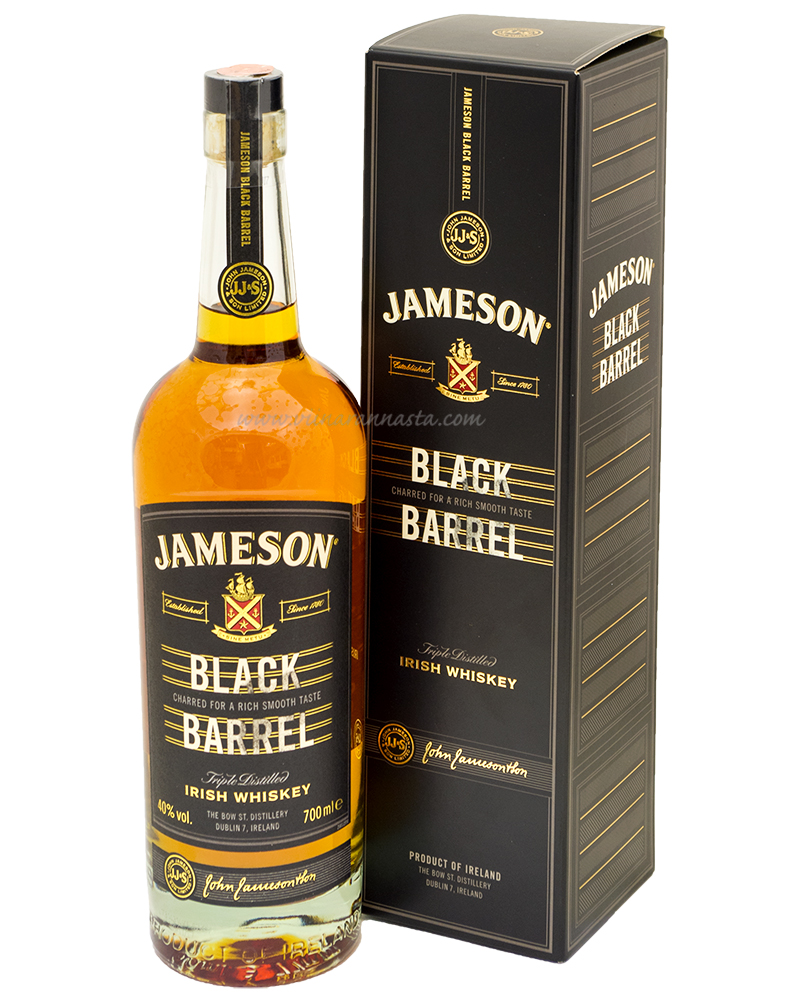 Jameson Black Barrel 40% 70cl