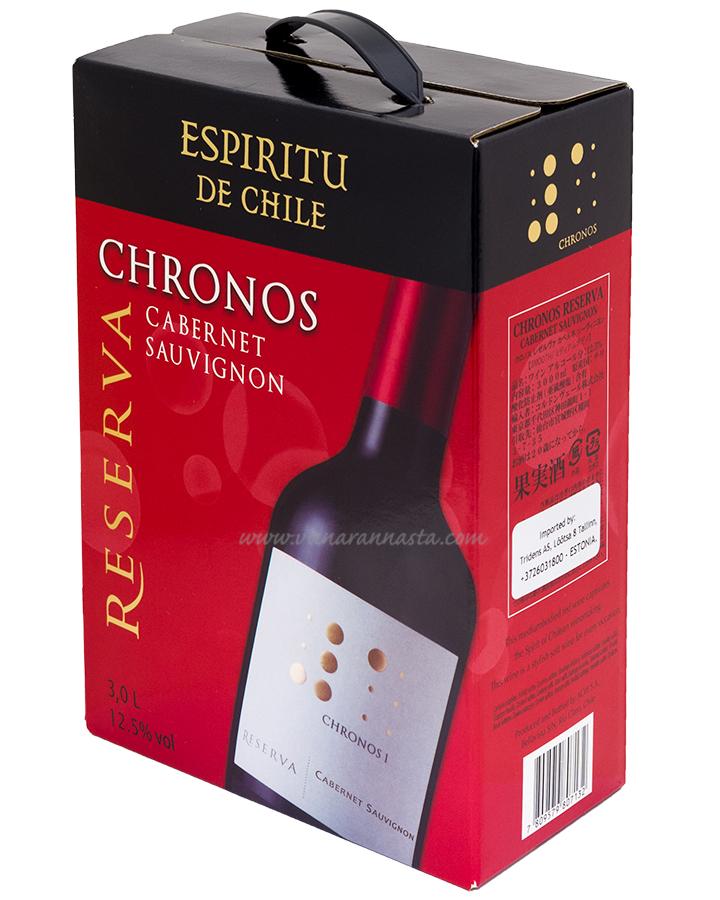 Espiritu De Chile Chronos Cabernet Sauvignon 12,5% 300cl BIB