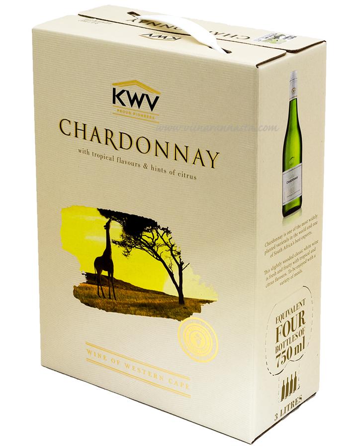 KWV Chardonnay 13,5% 300cl BIB