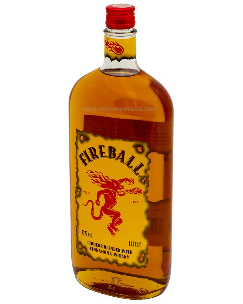 Fireball Cinnamon & Whisky 33% 100cl