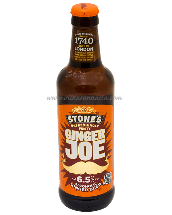 Stones Ginger Joe Extra 6,5% 33cl