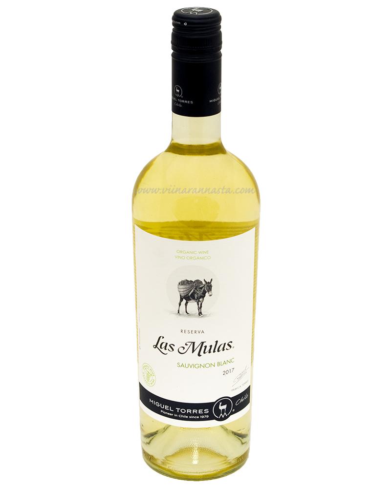 Torres Las Mulas Reserva Sauvignon Blanc Organic 13% 75cl