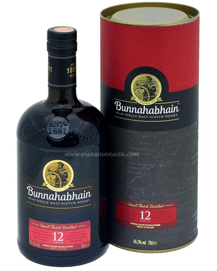 Bunnahabhain 12YO 46,3% 70cl