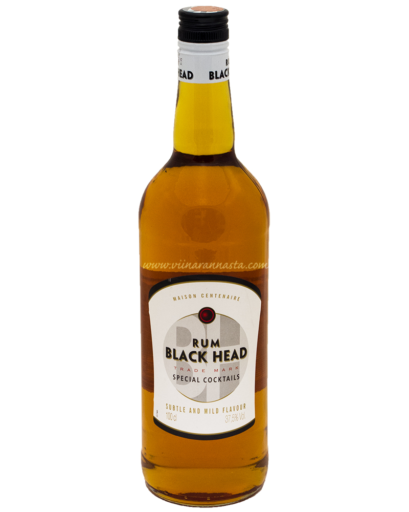 Black Head Rum Black 37,5% 100cl