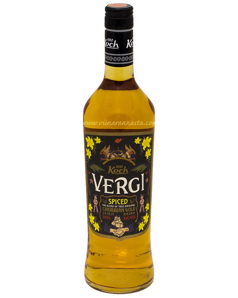 Vergi Spiced Caribbean Gold 37,5% 70cl