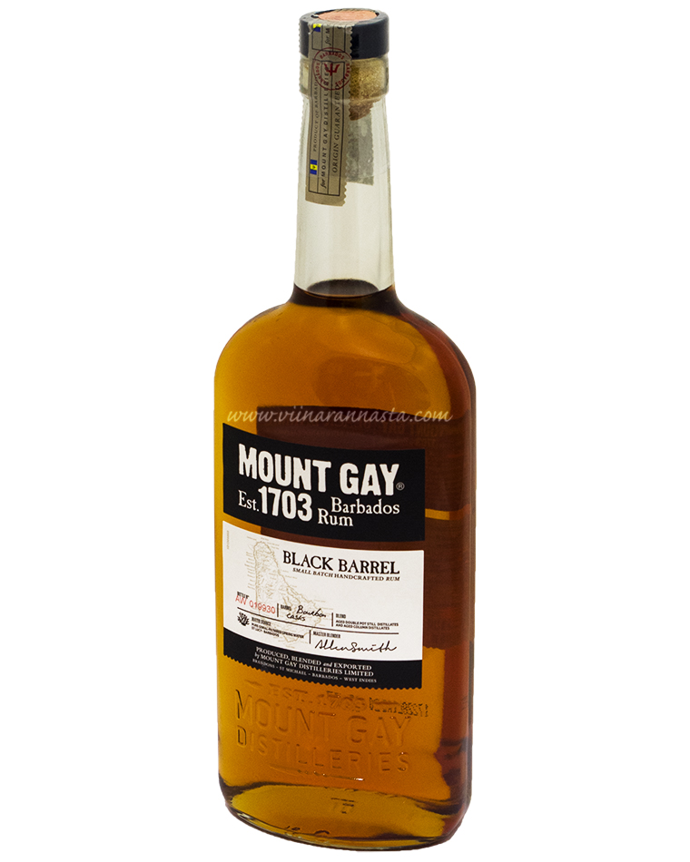 Mount Gay Black Barrel Rum 43% 70cl