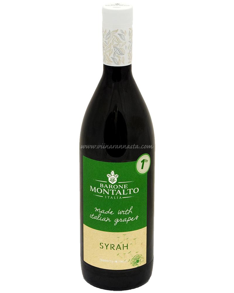Barone Montalto Syrah 14% 100cl PET