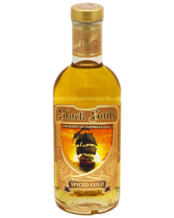 Black Sails Spiced Gold 37,5% 50cl