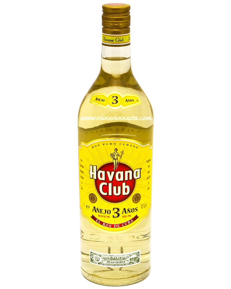 Havana Club 3YO 40% 100cl