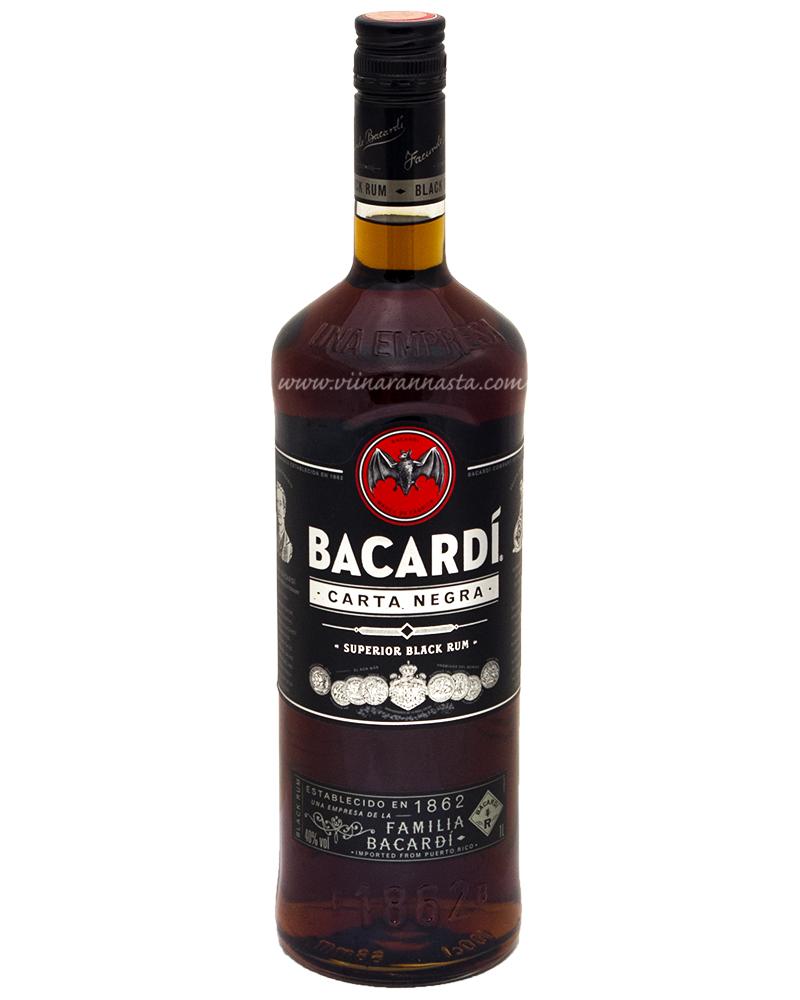 Bacardi Carta Negra 40% 100cl