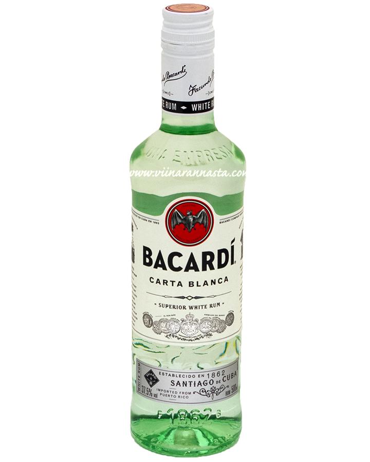 Bacardi Carta Blanca 37,5% 50cl