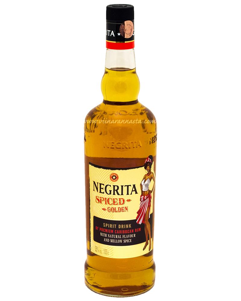 Negrita Spiced Golden 35% 100cl