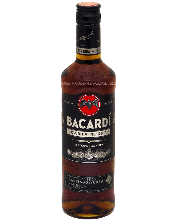 Bacardi Carta Negra 40% 50cl