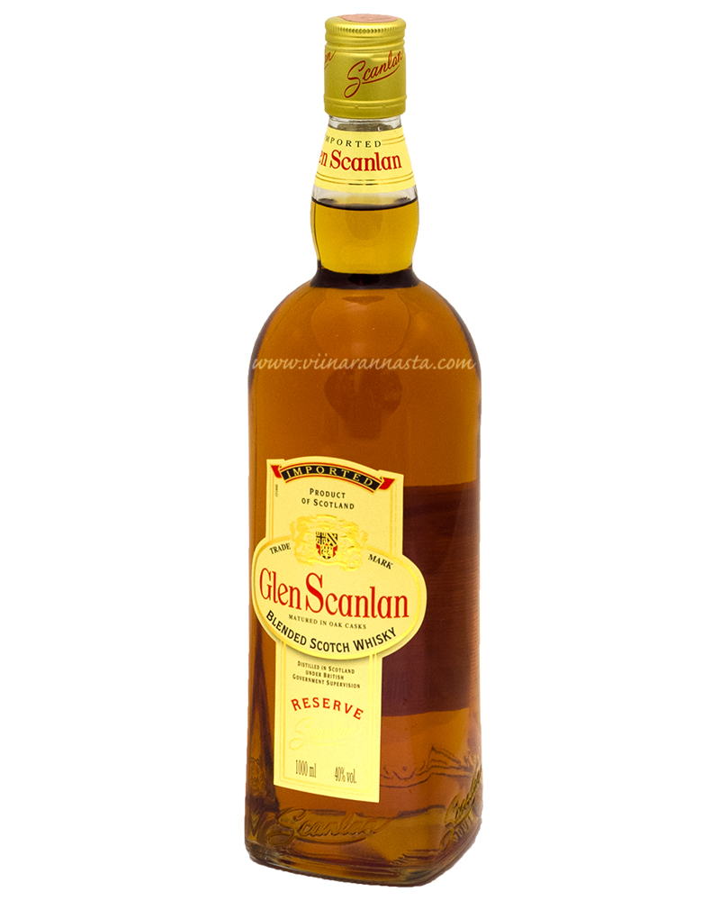 Glen Scanlan Scotch Whisky 40% 100cl
