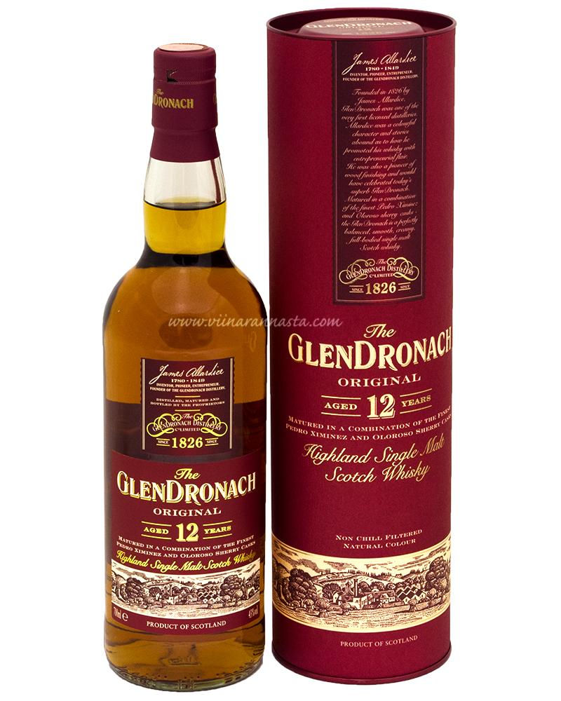 Glendronach 12YO 43% 70cl