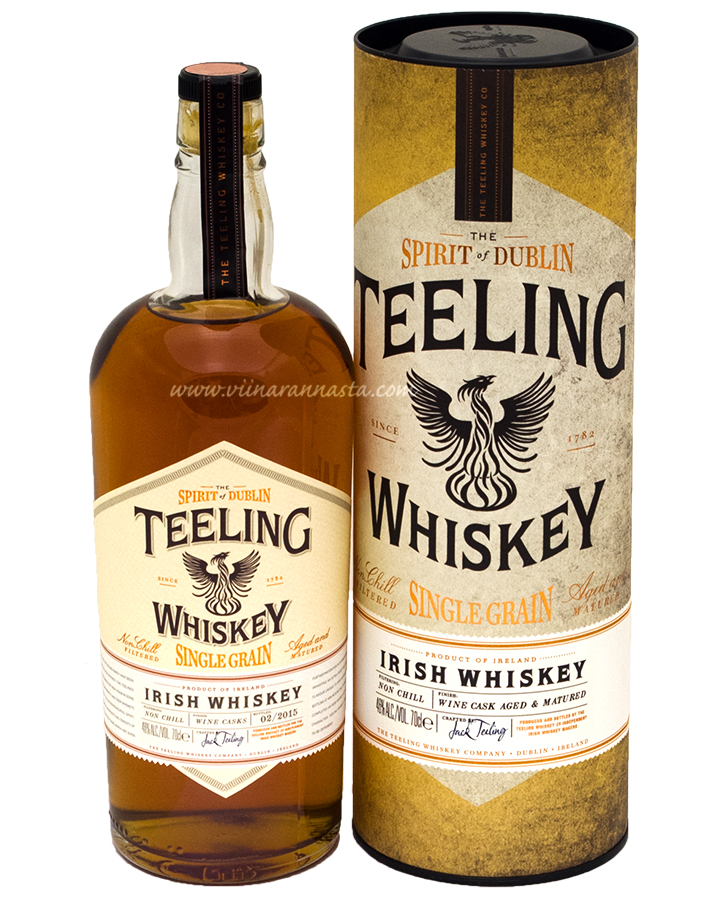 Teeling Single Grain Whiskey 46% 70cl