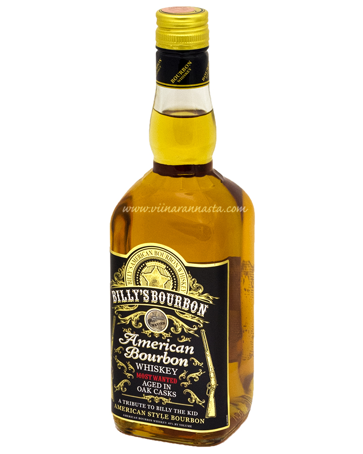 Billys Bourbon 40% 70cl