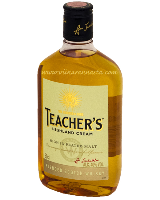 Teachers Highland Cream 40% 50cl PET