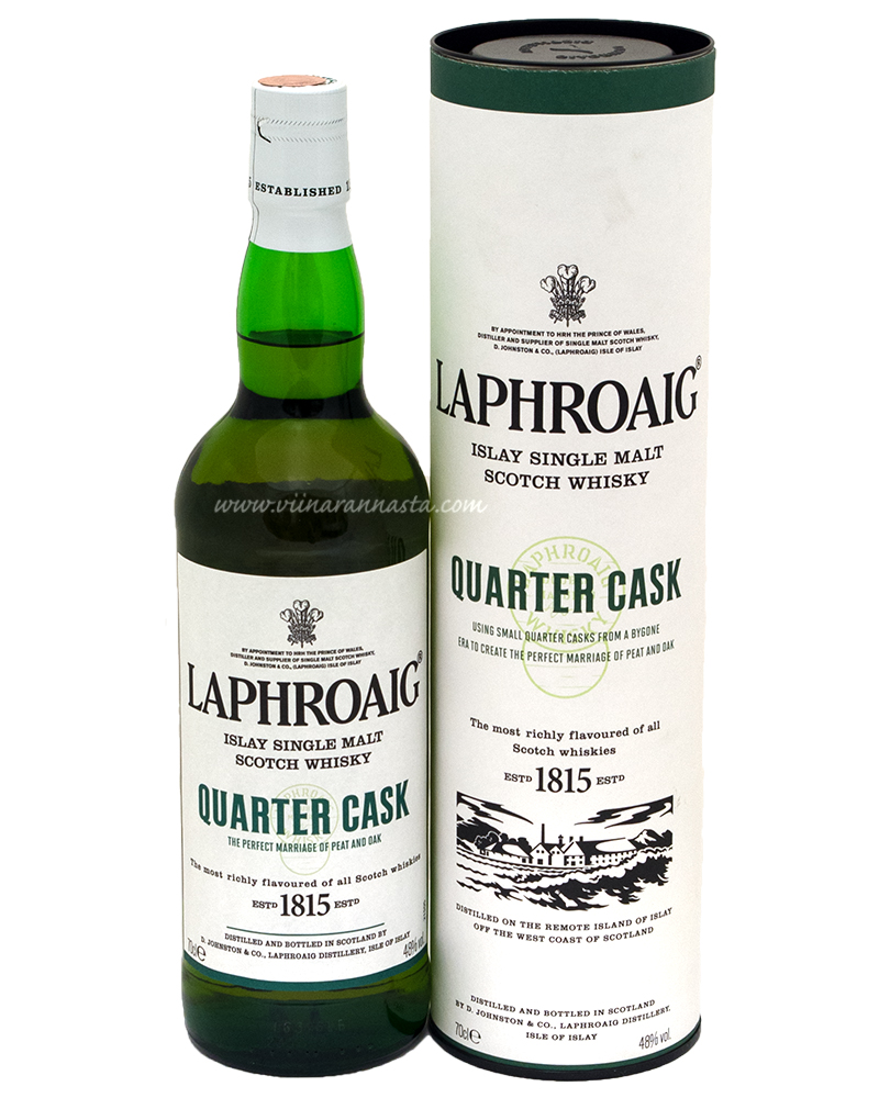 Laphroaig Islay Single Malt Quarter Cask 48% 70cl
