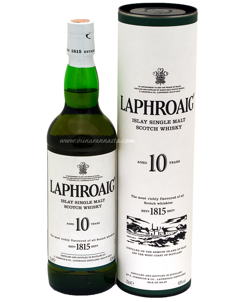 Laphroaig Islay Single Malt 10YO 40% 70cl