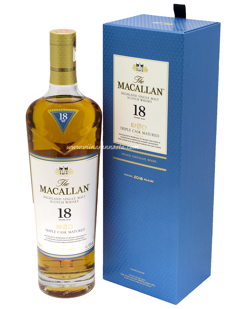 The Macallan 18YO Fine Oak 43% 70cl