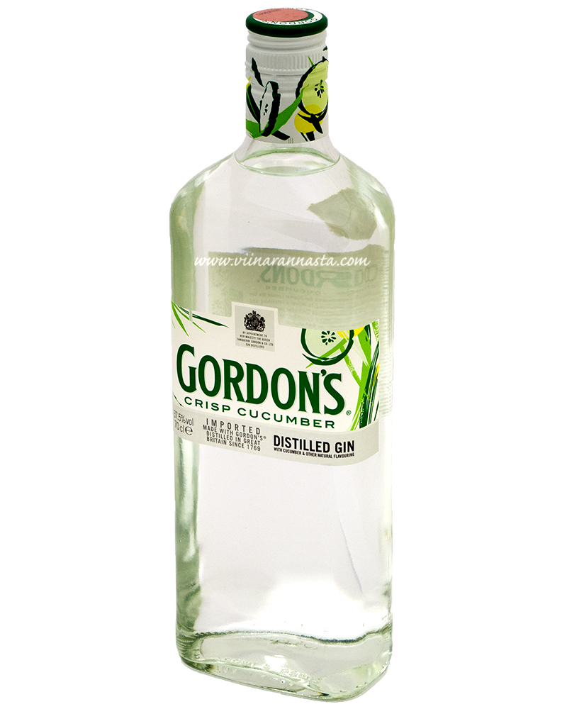 Gordons Cucumber 37,5% 70cl