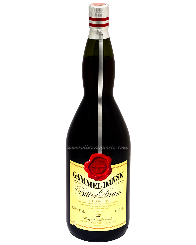 Gammel Dansk Bitter 38% 100cl