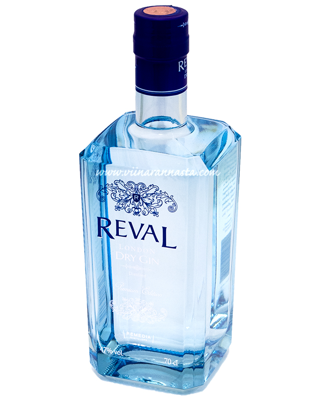 Reval London Dry Gin 47% 70cl