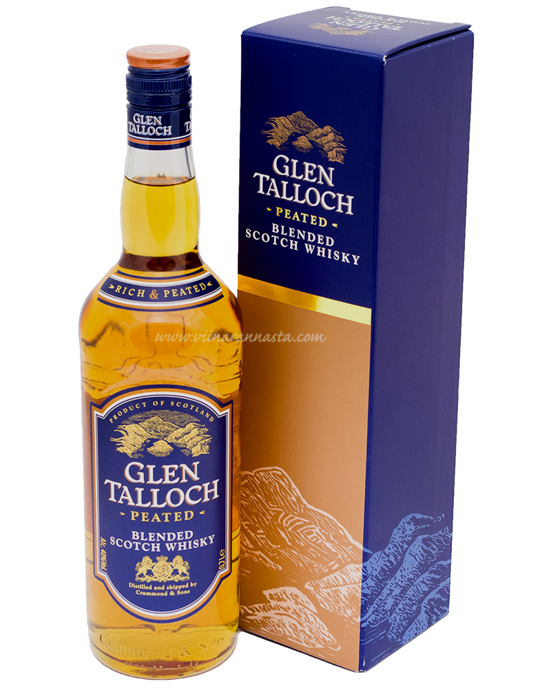 Glen Talloch Peated Scotch Whiskey 40% 70cl