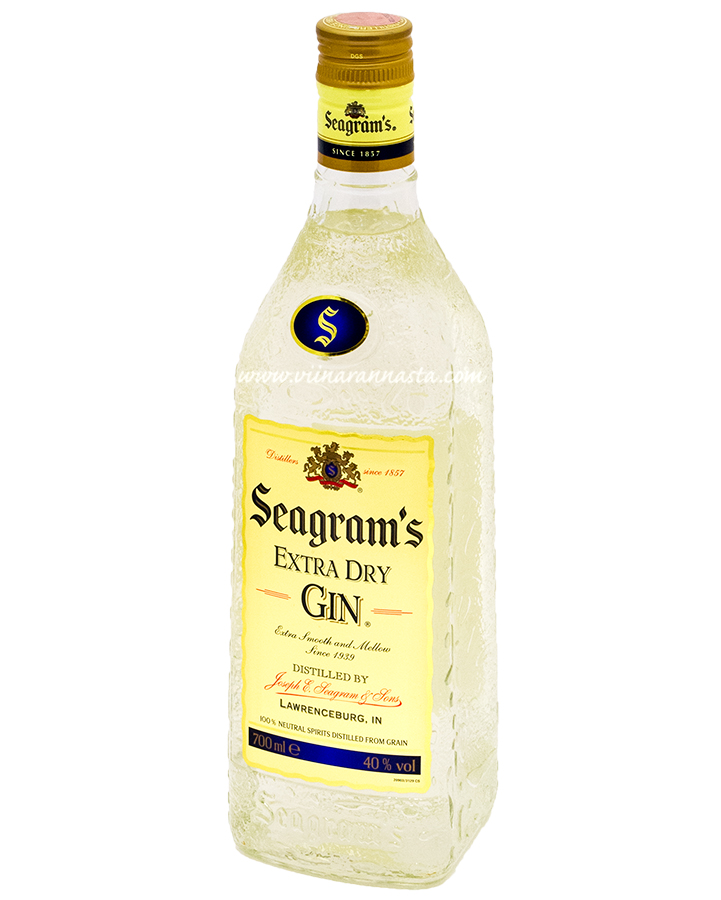 Seagrams Extra Dry Gin 40% 70cl