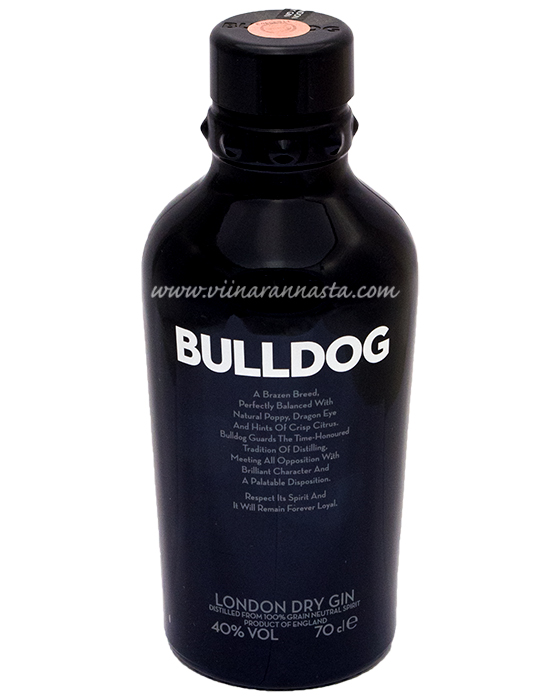 Bulldog London Dry Gin 40% 70cl