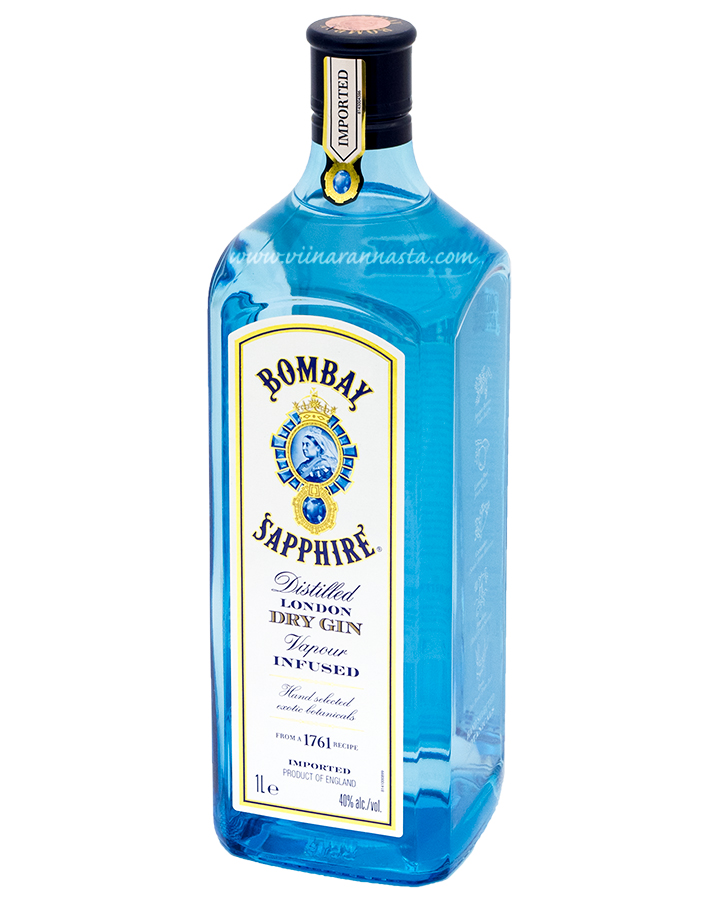 Bombay Sapphire Dry 40% 100cl