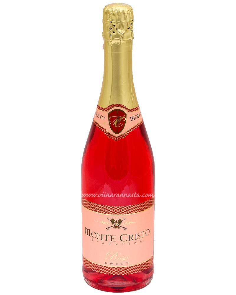Monte Cristo Sparkling Rose Sweet 10% 75cl