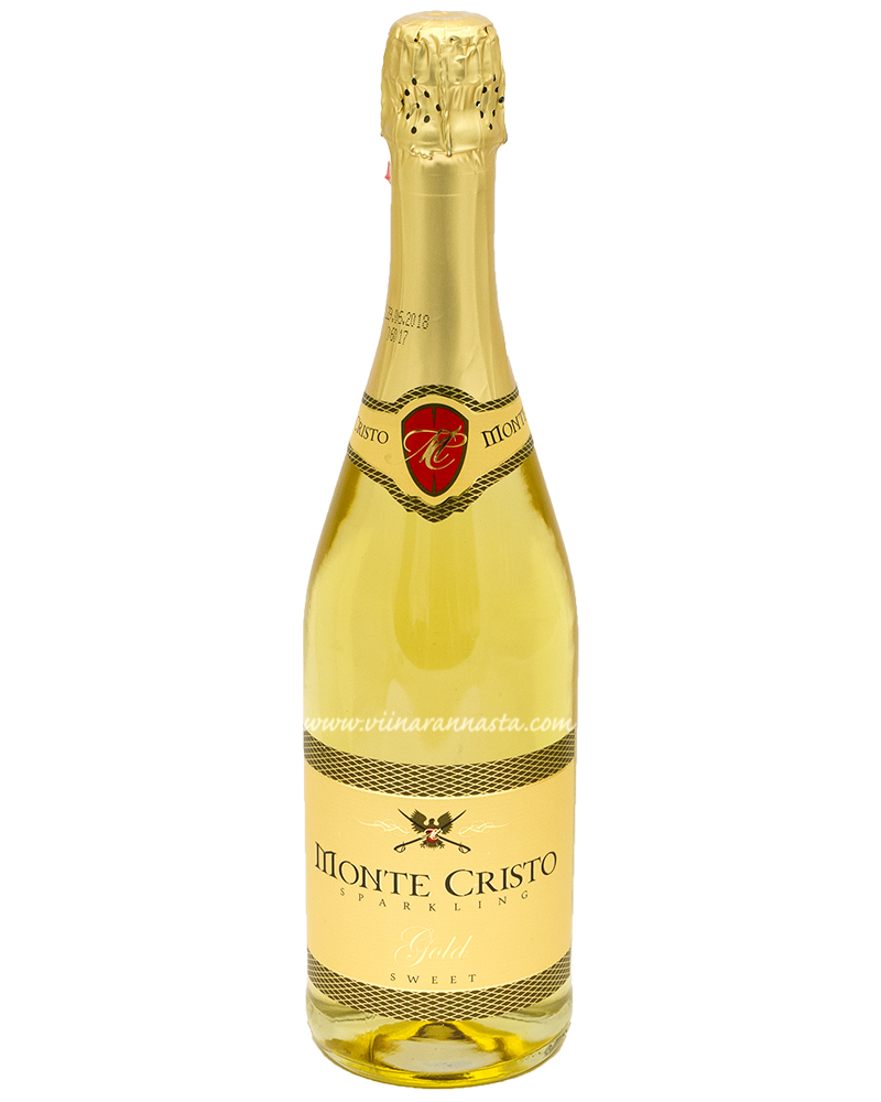 Monte Cristo Gold Sparkling Sweet 10% 75cl