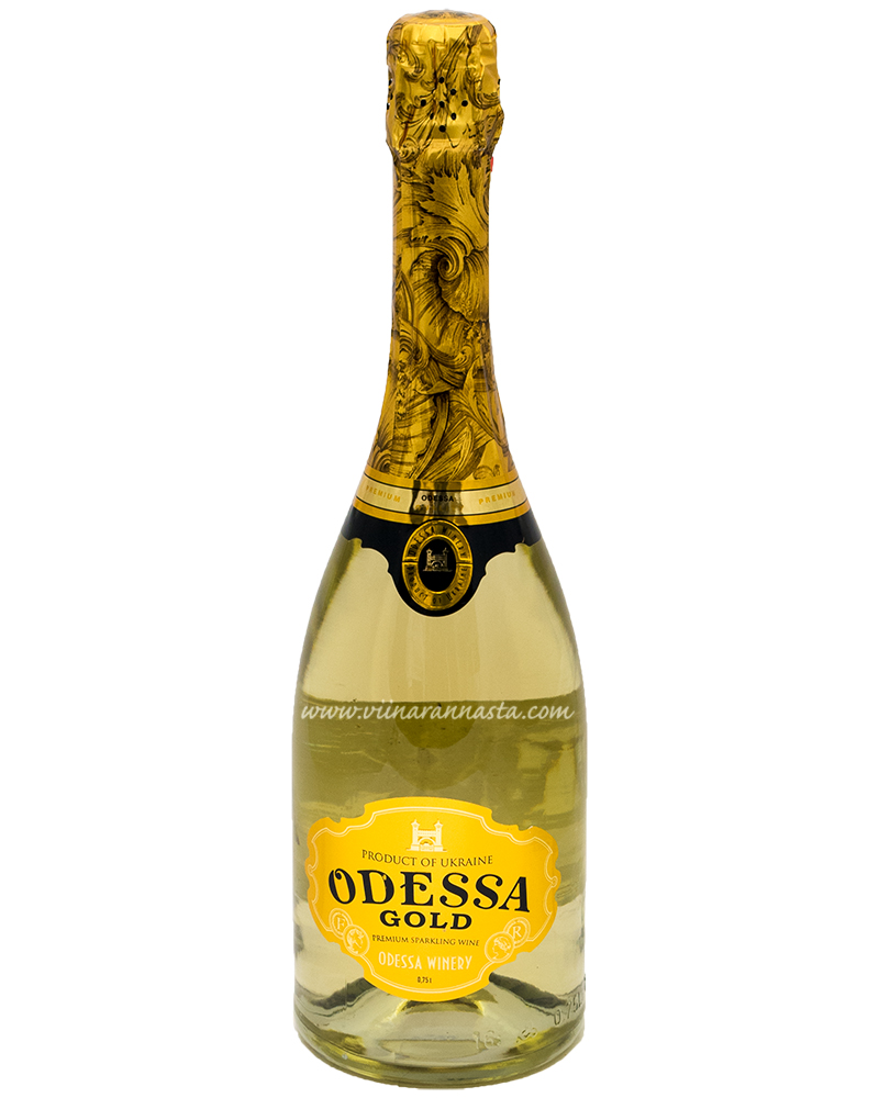 Odessa Gold Sweet Sparkling Wine 11,5% 75cl