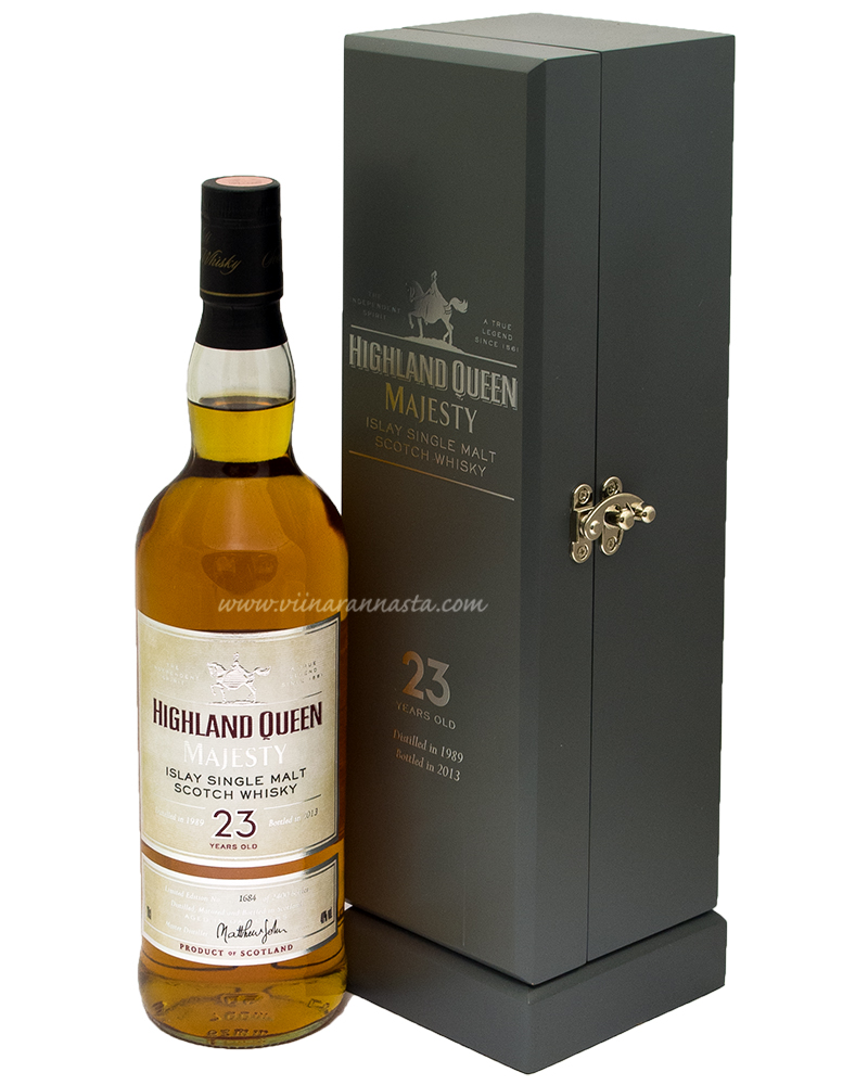 Highland Queen Majesty Islay 23YO Single Malt 40% 70cl