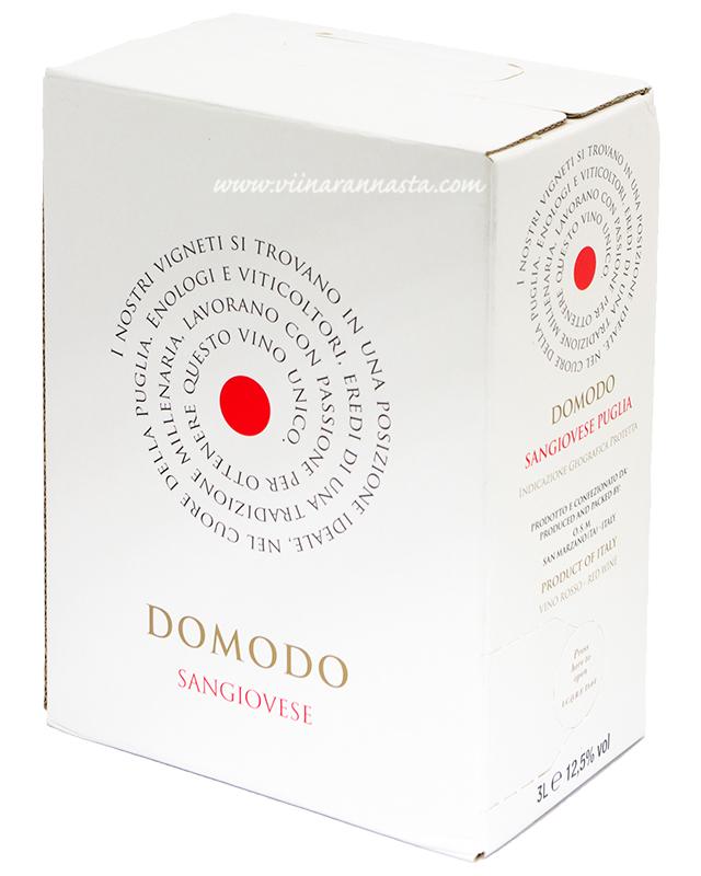 Domodo Sangiovese 12,5% 300cl BIB