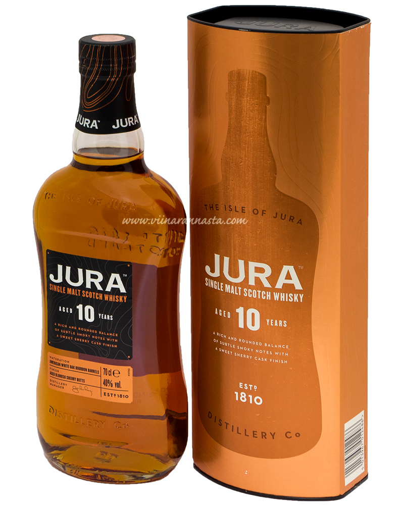 Jura Single Malt 10YO 40% 70cl
