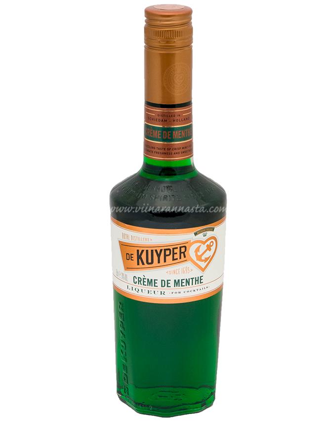 De Kuyper Creme De Menthe Green 24% 50cl