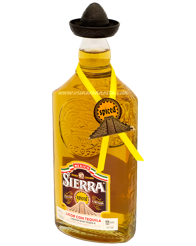 Sierra Licor con Tequila Spiced 25% 70cl