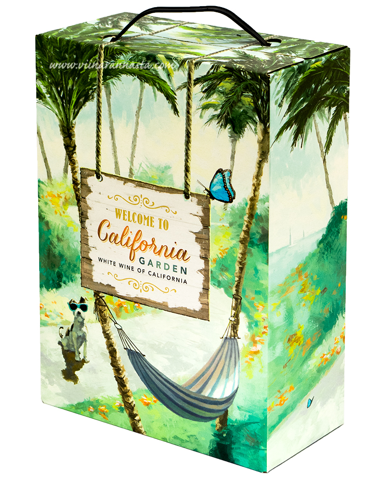Welcome to California Garden 12% 300cl BIB