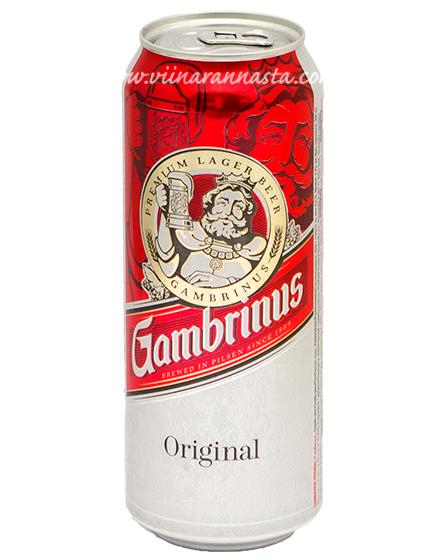 Gambrinus Original 4,3% 50cl TIN