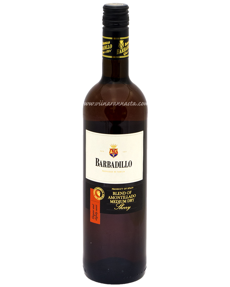 Barbadillo Amontillado Medium Dry Sherry 17,5% 75cl