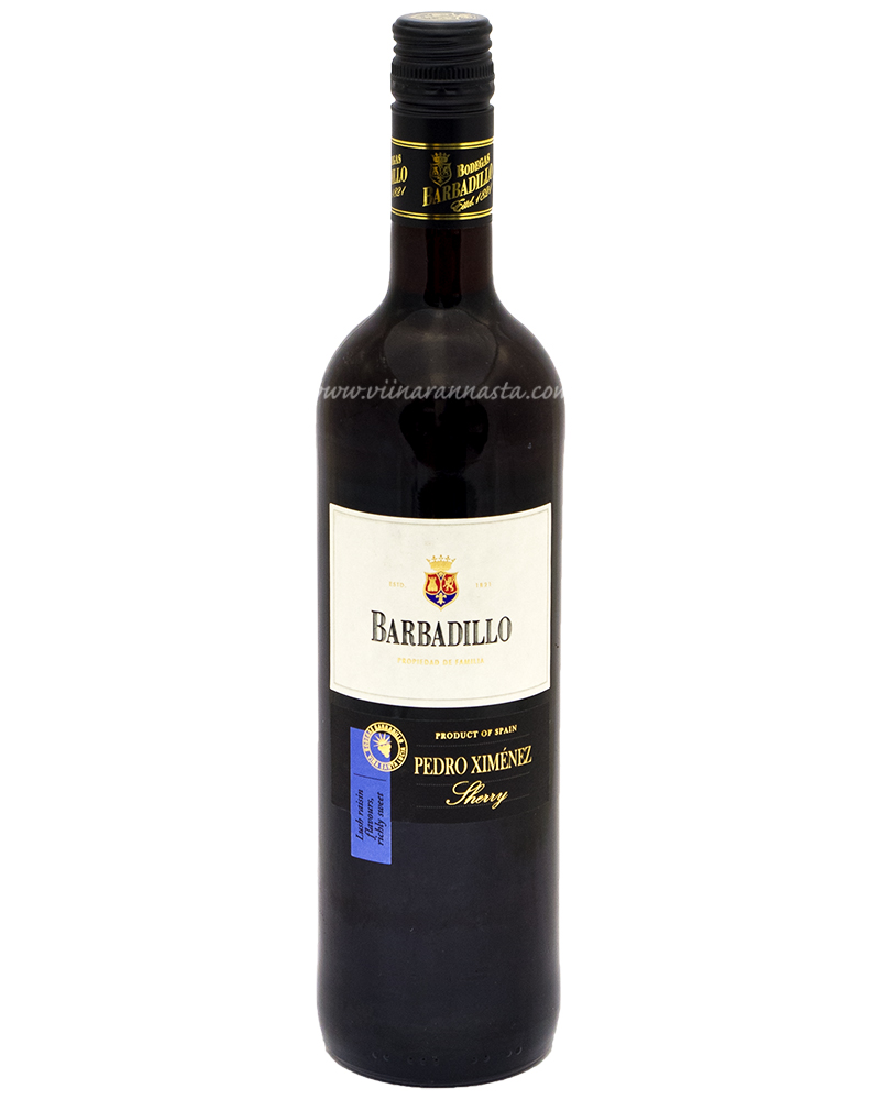 Barbadillo Pedro Ximenez Sherry 19% 75cl