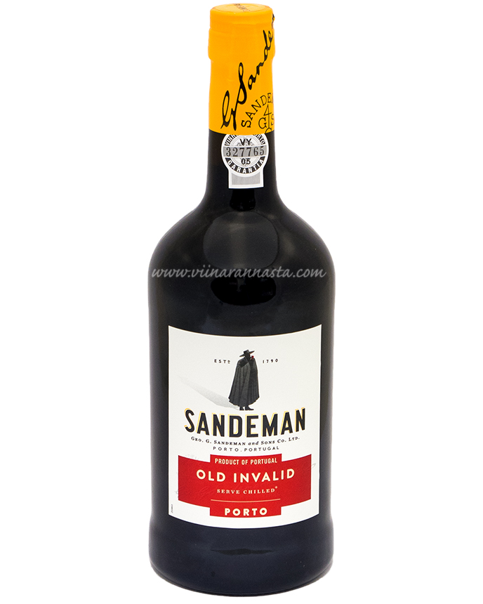 Sandeman Old Invalid Porto 19,5% 75cl
