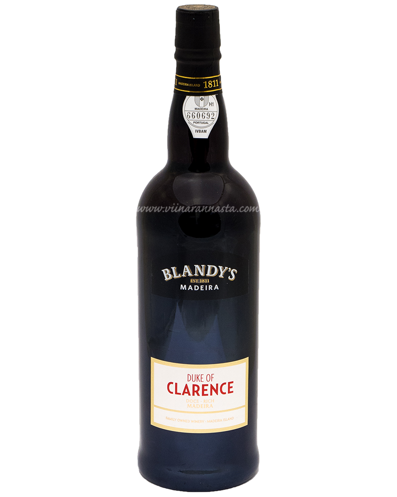 Blandys Madeira Duke Of Clarence 19% 75cl