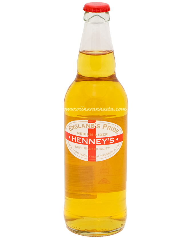 Henneys Cider Englands Pride 6% 50cl
