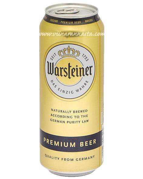 Warsteiner Premium 4,8% 50cl TIN