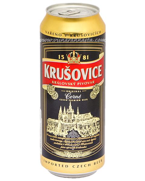 Krusovice Dark 3,8% 50cl TIN