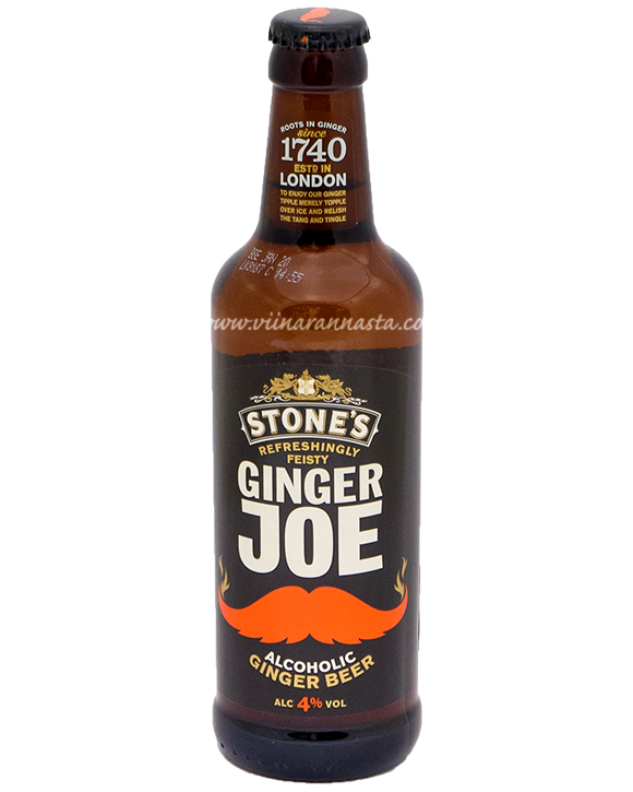 Stones Ginger Joe Ginger Beer 4% 33cl